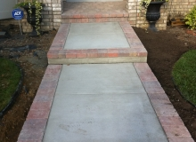 Brick Paver Sidewalks and Steps