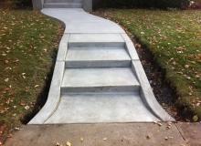 Concrete Sidewalks and Steps