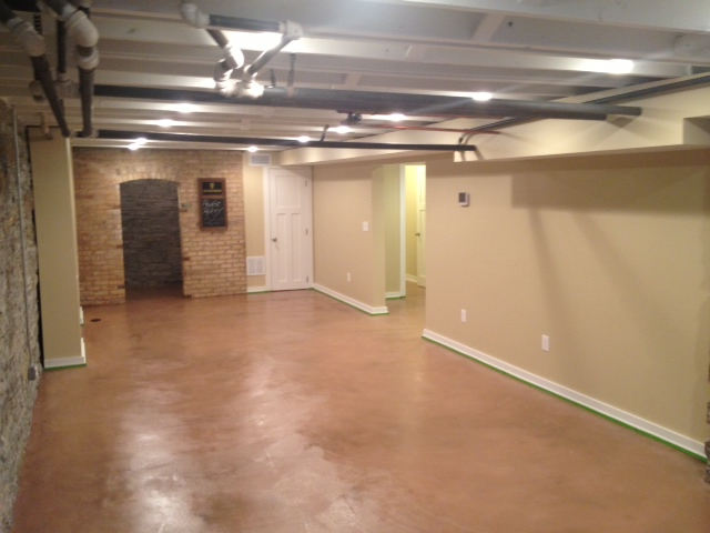 Concrete basement floor minneapolis kenwood a pietig for Concrete basement cost estimator