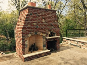 Edina Brick Pizza Oven