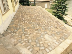 Prior Lake Retaining Patio