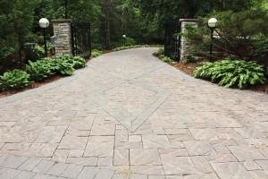 Edina brick driveway